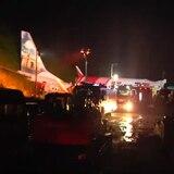 Trágico accidente en avión comercial de India