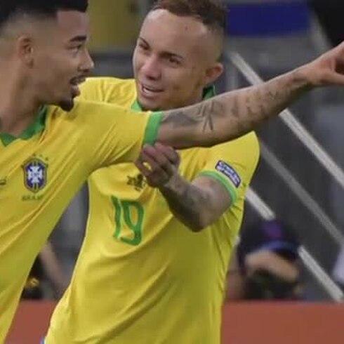 Brasil gana la Copa América