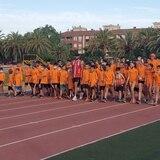 Wesley Vázquez inspira a jovencitos que lo ven entrenar en España