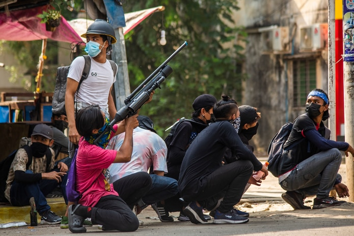 Organizaciones sociales han estimado las víctimas fatales de las confrontaciones en 550, de las que 46 son menores de edad.