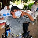Ofrecen pruebas de COVID-19 a personas sin hogar