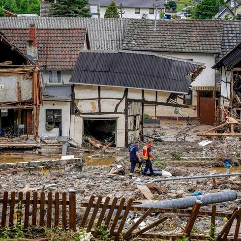 Devastadoras inundaciones en Europa