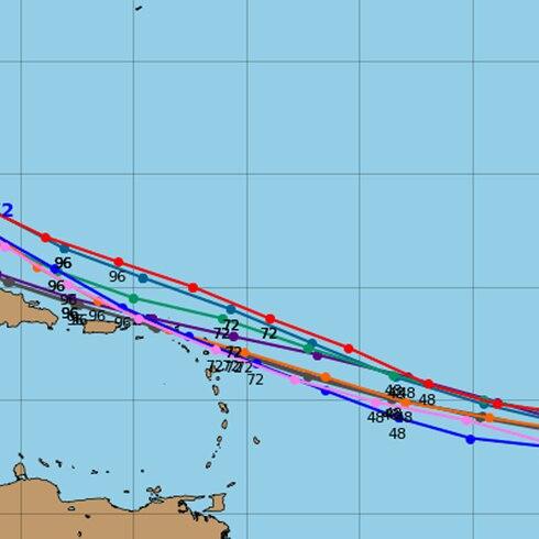 La hora del tiempo: onda tropical sigue rumbo al Caribe