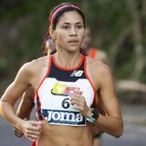 Los duros del medio maratón San Blas en Coamo