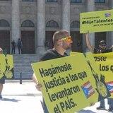Marchan los #HijosTalentosos hacia La Fortaleza