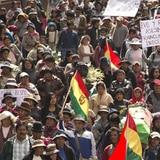 Cocaleros marchan contra Evo Morales