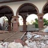 Esto es lo que queda de la Parroquia Inmaculada Concepción en Guayanilla