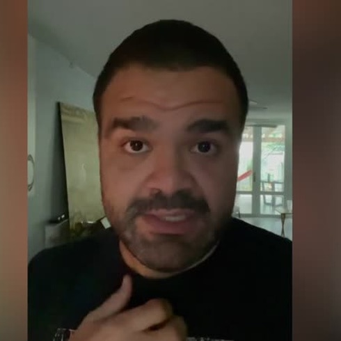 """Juan Pablo Díaz: """"Roberto Roena era mi padrino de agua"""""""