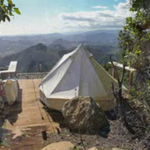 La Cuchilla: nuevo escape para acampar al tope de Aibonito