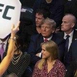 Donald Trump asiste a la UFC y causa reacciones alternas