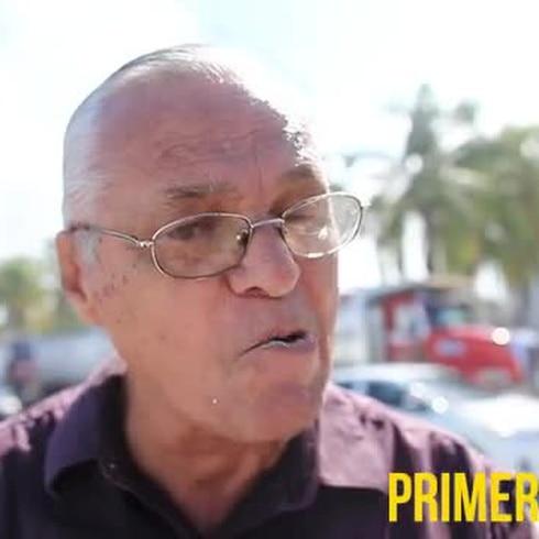 Camioneros protestan contra manifestantes de Peñuelas