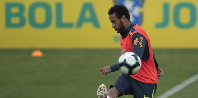Neymar retiró el vídeo de sus redes sociales. (AP)
