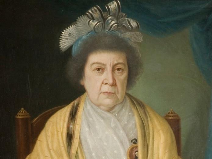 Obra que ahora se atribuye a José Campeche, pero inicialmente se creía que había sido pintada por Goya.