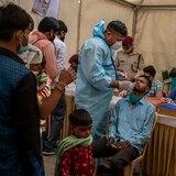 Surge nueva variante del coronavirus en India