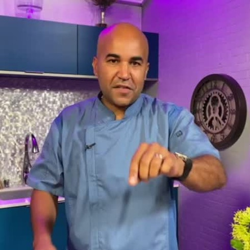 "Guíllate de Chef: ""nuggets"" de mero"