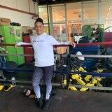 Amanda Serrano hace de tripas corazones para entrenar