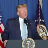 """Donald Trump: """"Tomamos medidas anoche para detener una guerra"""""""