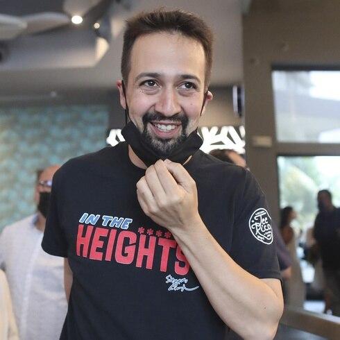"""Lin-Manuel Miranda presenta la película """"In the Heights"""" en Puerto Rico"""