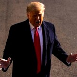 Trump urge a Biden a mantener sus medidas migratorias y la construcción del muro con México