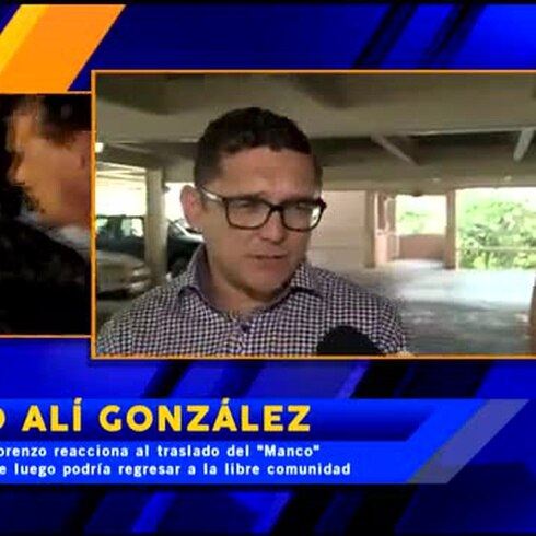 "Ahmed Alí González habla de la salida de ""El Manco"" de la cárcel"