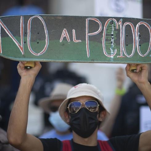 Manifestación en el Capitolio en repudio al PAD