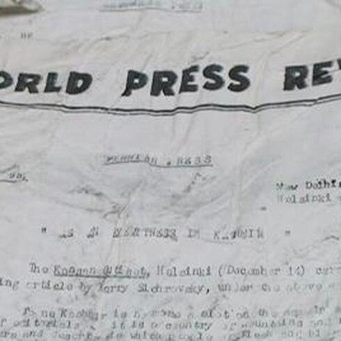 Intacta tras cinco décadas sepultada en los Alpes