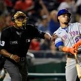 Los enrachados Mets dominaron a los Nationals en 10 entradas