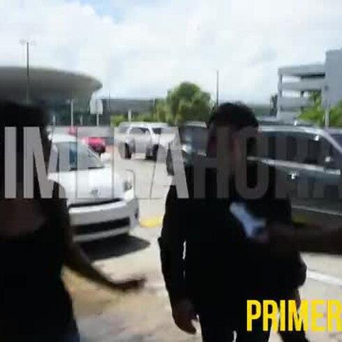 Keanu Reeves se despide de Puerto Rico