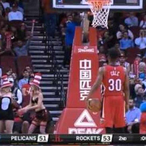 Difícil concentración en la NBA