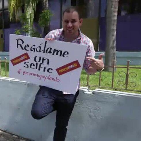 Danilo Beauchamp hace promoción para su nuevo programa