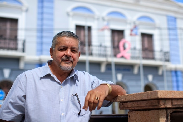 "Carlos ""Tito"" Ramírez, alcalde de Arecibo"