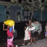 """Escapan del volcán en Congo: """"No tenemos nada para comer"""""""