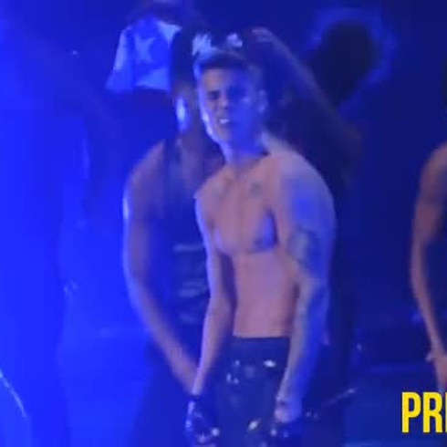 Cámara ready: Justin Bieber en Puerto Rico
