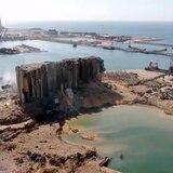La catástrofe de Beirut desde el cielo