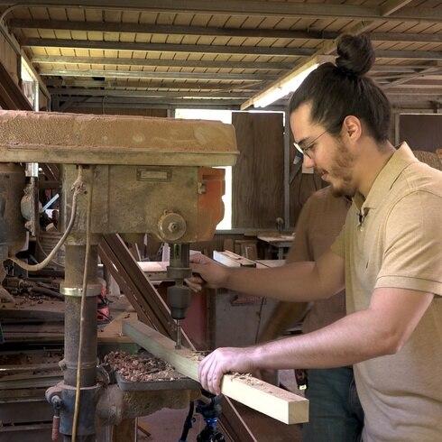 ¿Sabes el trabajo que da hacer un mueble de eneas?