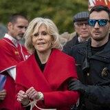 Jane Fonda pasa la noche en la cárcel después de su cuarto arresto