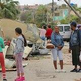 Cubanos expresan el terror que vivieron  tras tornado