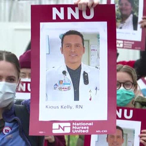 """Protestan médicos y enfermeros: """"¡Queremos vivir!"""""""