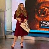 Reportera Sylvi Escoto anuncia su segundo embarazo