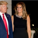 Trump y su familia oran por la paz y el júbilo en el mundo