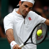 Niña boricua muestra sus habilidades a Roger Federer
