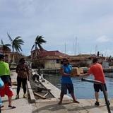Boricuas llevan ayuda a Islas Vírgenes en lanchas privadas
