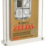 Subastan por $870,000 videojuego de Zelda sellado y en su empaque original desde 1987