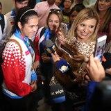 Llegan los primeros atletas boricuas desde Barranquilla