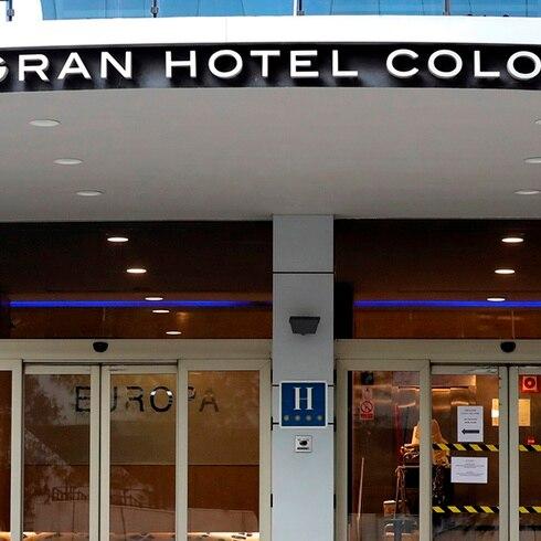 Lujoso hotel se llena con pacientes de coronavirus