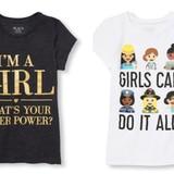 Camisas que empoderan a las niñas
