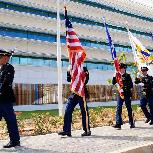 Celebran el nuevo edificio del FBI en Puerto Rico