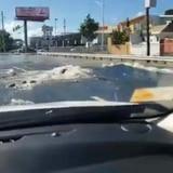 Cierran intersección de las carreteras PR-29 y PR-167 en Bayamón por rotura de tubo
