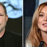 Lindsay Lohan sale en defensa de Harvey Weinstein