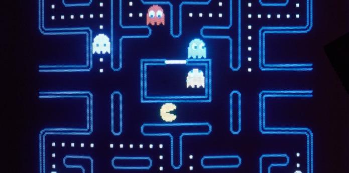 Pac-Man, diseñado por el creador de videojuegos Toru Iwatani, salió a la venta en 1980. (AP)